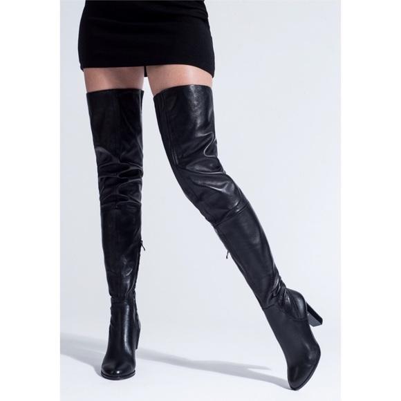 outlet schönen Glanz helle n Farbe 🆕 BNIB Arollo Stiefel Victoria Overknee Boots 🆕 NWT